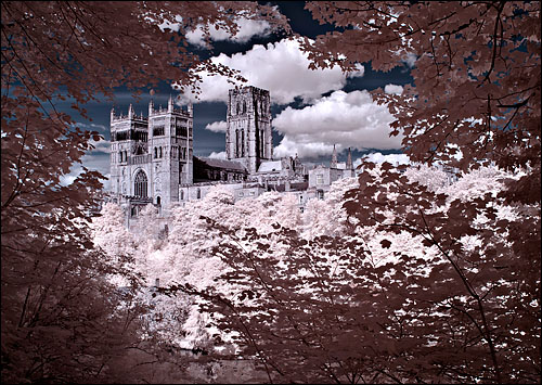Durham Cathedral in Infrared